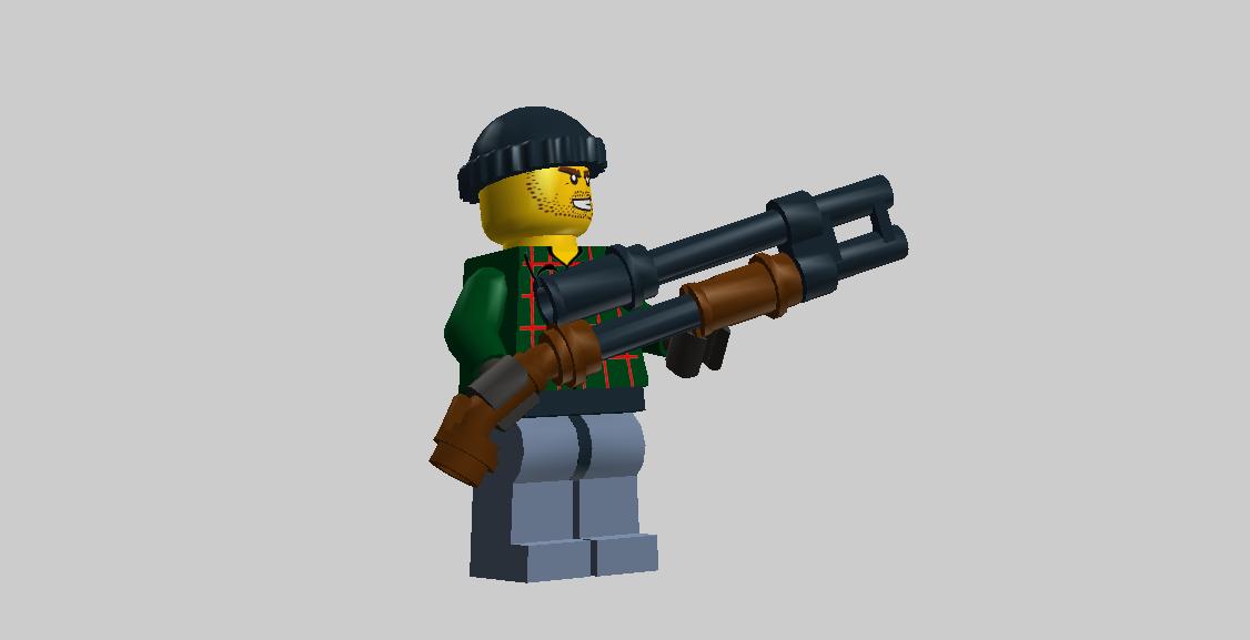 Бетономешалка груЛего оружие для человечков своими руками