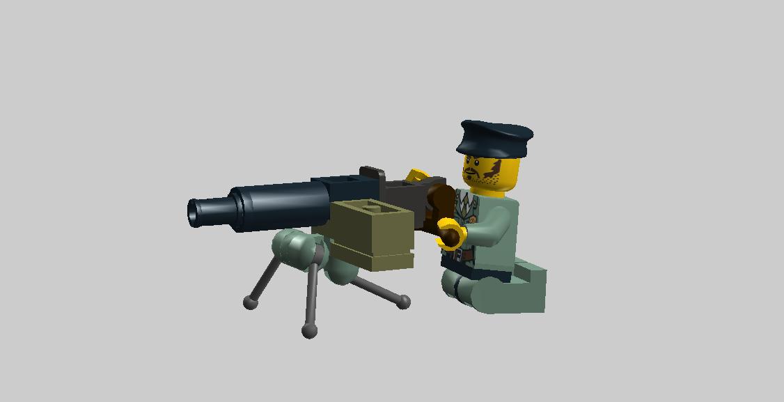 Австрийский станковый пулемет