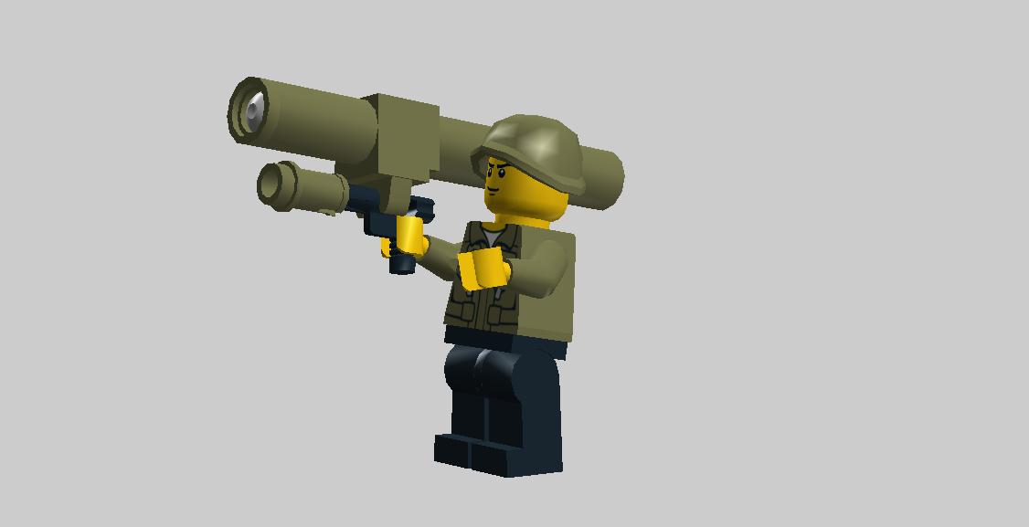 Переносной зенитно-ракетный