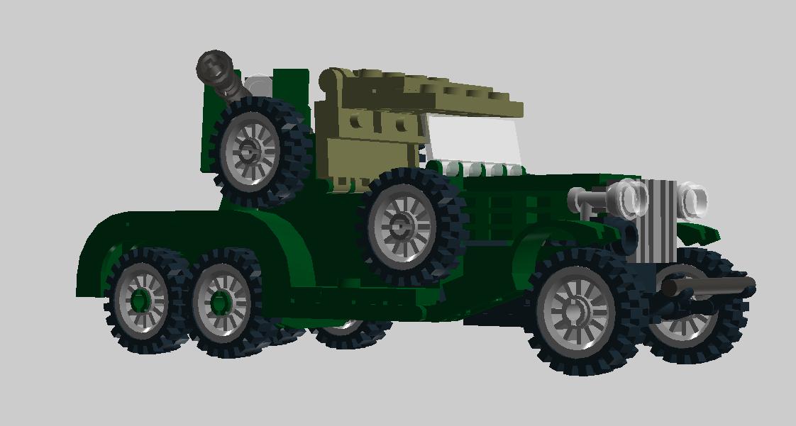 ГАЗ-ТК - Легкая САУ с 76мм