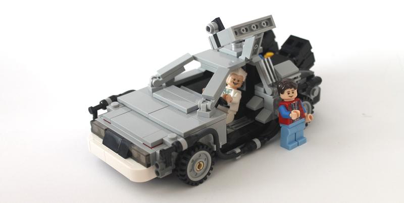Photo of The DeLorean Time Machine