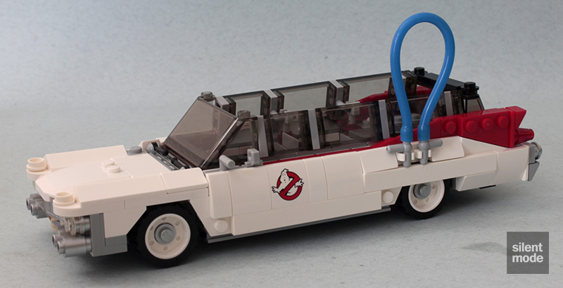 Photo of Ghostbusters Ecto-1