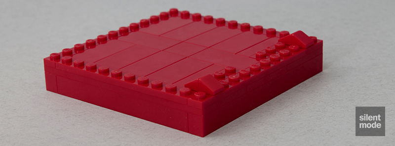 Photo of Buildable Brick Box 2×2