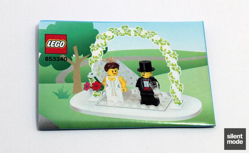 Photo of Minifigure Wedding Favour Set