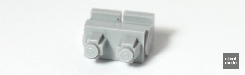 Photo of Brick Fortress Mini-Action Legs