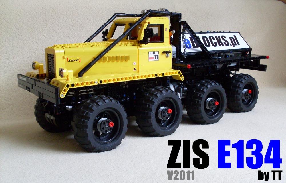 Technic Delicatessen Tt S Lego Technic Zil E134 Trial Truck