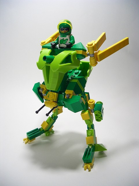 How To Use Useless Bionicle Parts In Exo Force Sets The