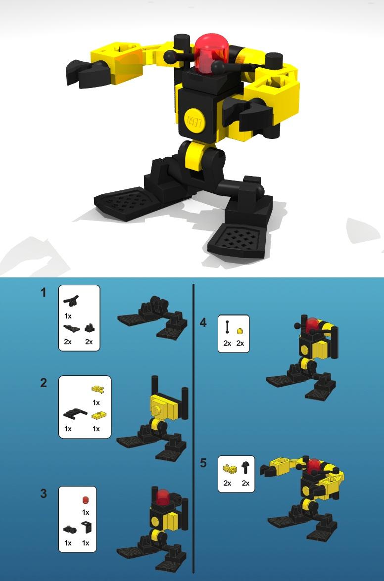 minibots mit anleitungen lego bei gemeinschaft forum. Black Bedroom Furniture Sets. Home Design Ideas