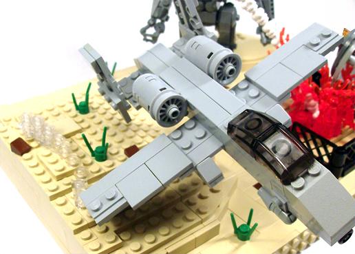 Spitfire landed