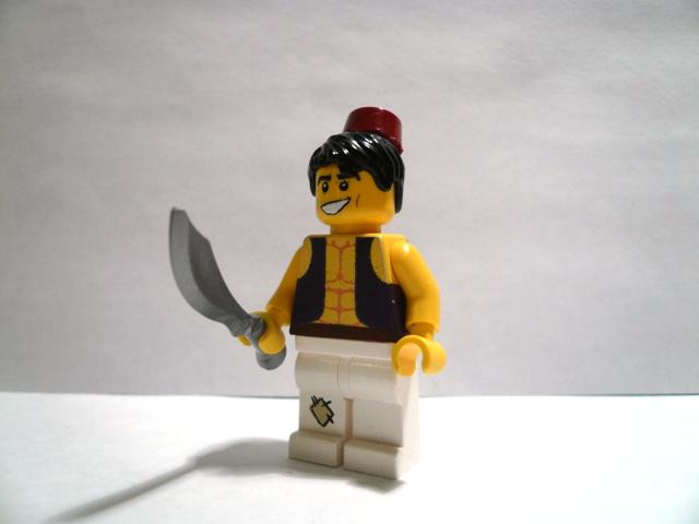 Lego Aladdin minifig