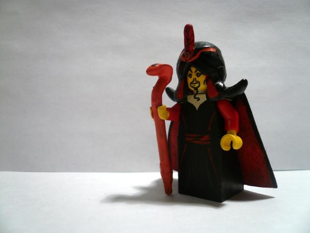 Lego Jafar minifig