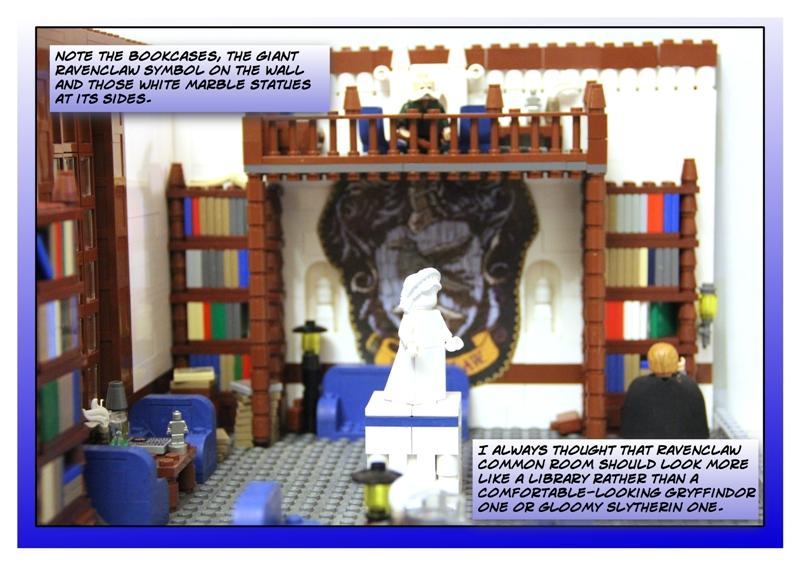 Ravenclaw Common Room - LEGO Licensed - Eurobricks Forums