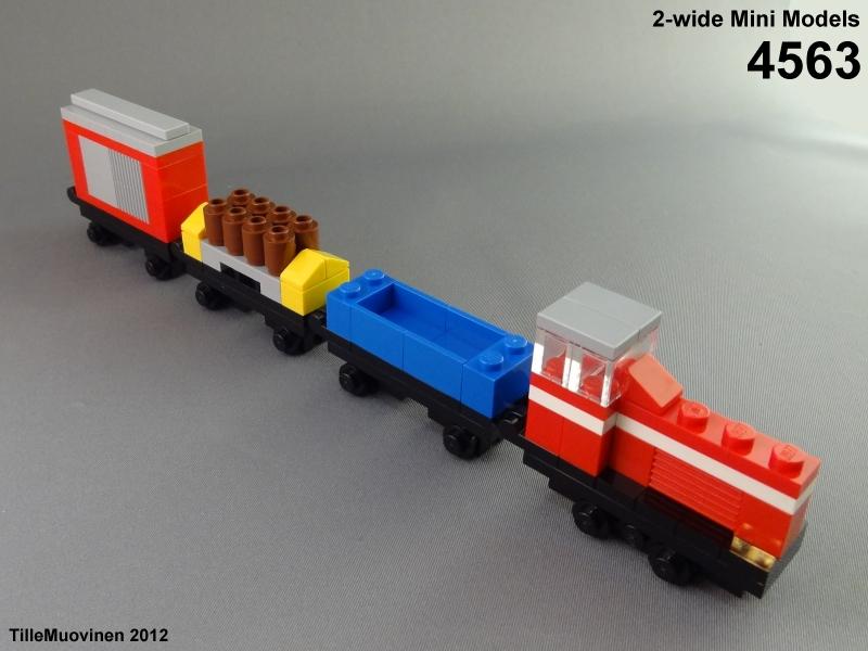 Как сделать поезд из лего 127