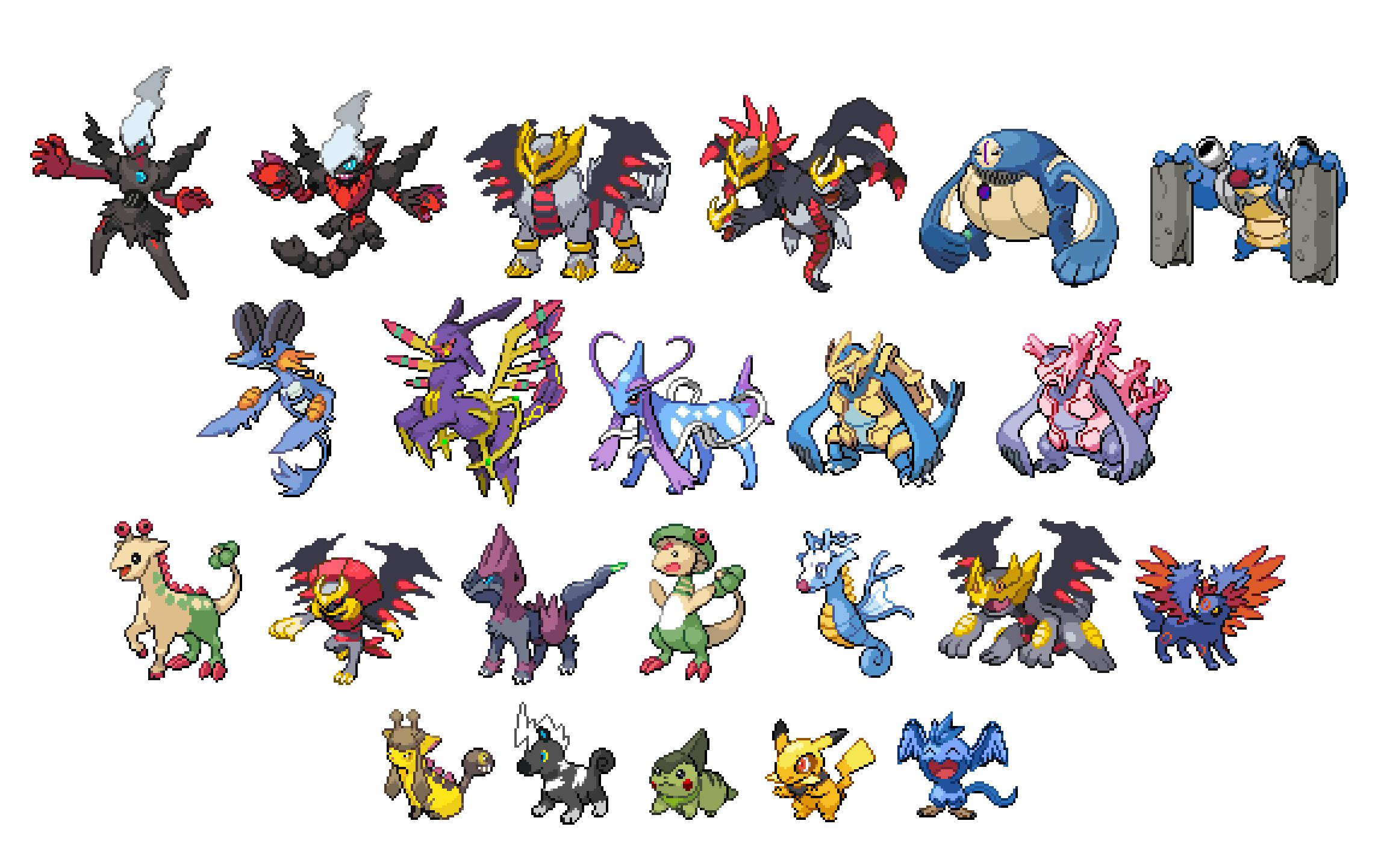 Sprite Dump Pokemon Shuffle Images | Pokemon Images