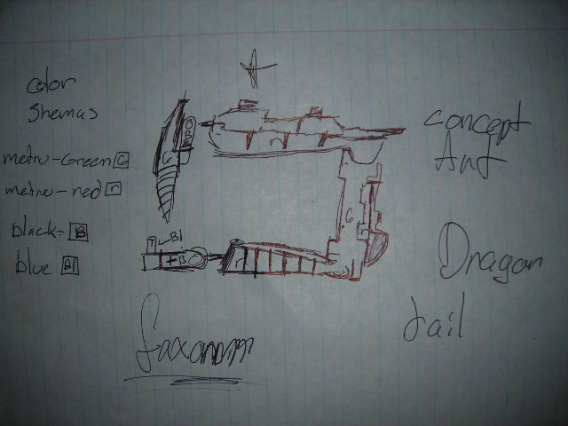 Rahi Dragon concept Art Dscn2258