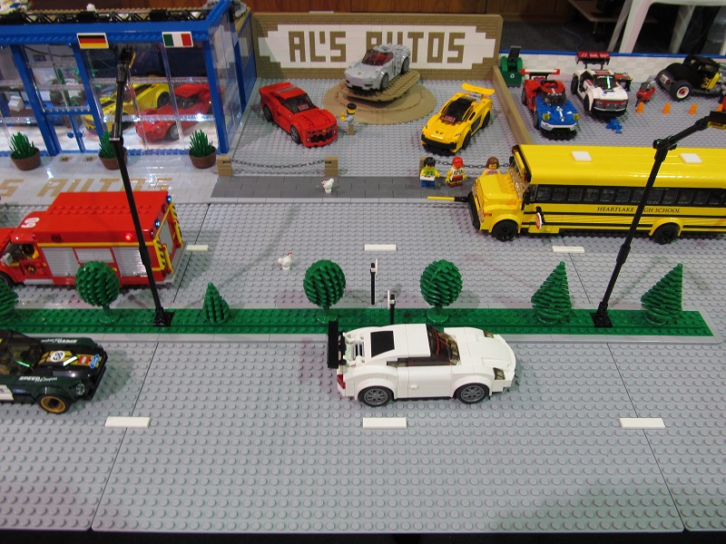 LEGO 2 x Car Parking Meters Street Cars Town City