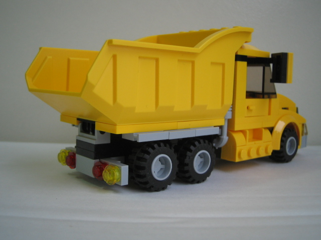 Moc Dump Truck Lego Town Eurobricks Forums