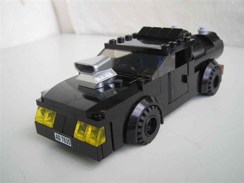 Moc Mad Max Interceptor Lego Town Eurobricks Forums