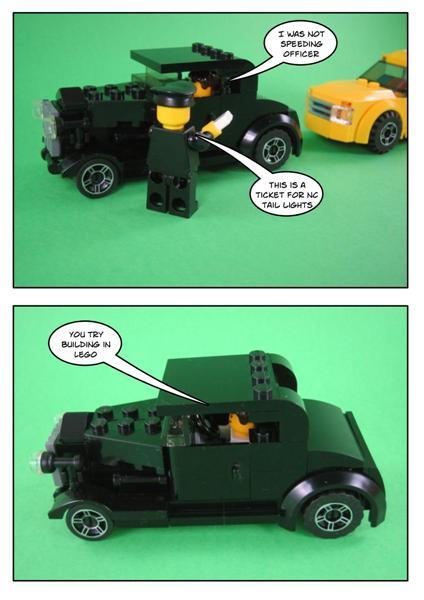 lego hot rod instructions