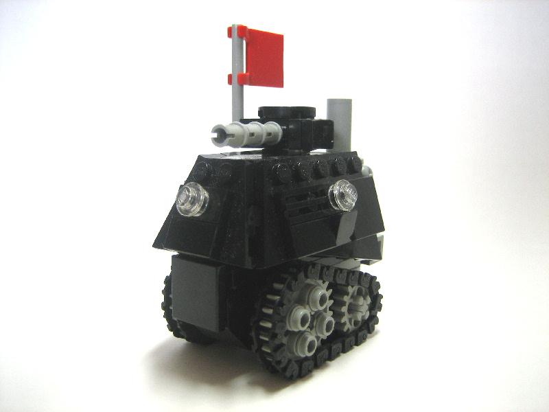 Как сделать танк из лего тигр 2 190