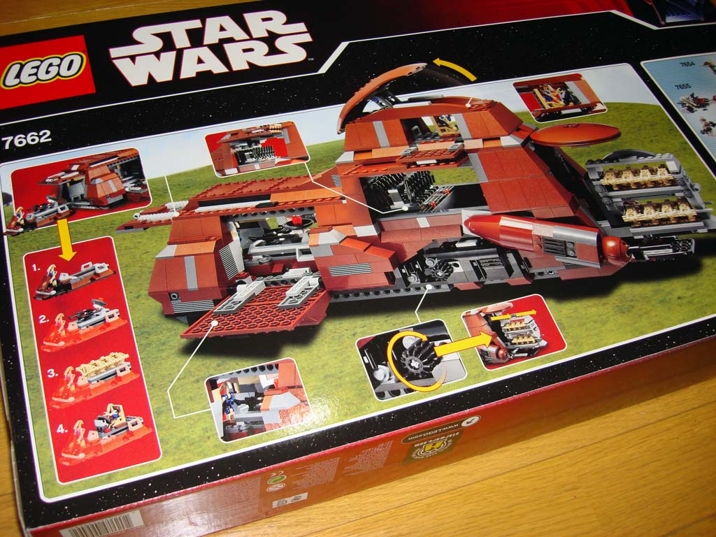 MTT (7662) Pic Review - Page 3 - LEGO Star Wars - Eurobricks