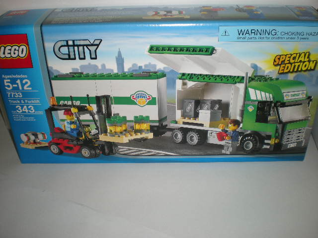 Set Review 7733 Truck And Forklift Lego Town Eurobricks Forums