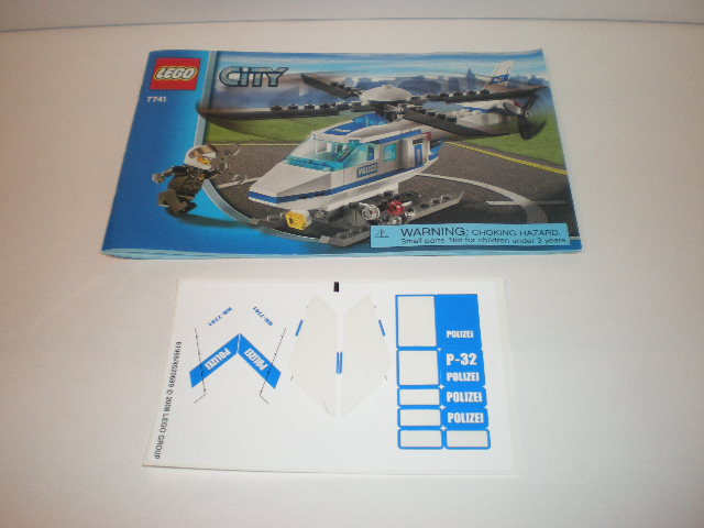 lego city police helicopter manual