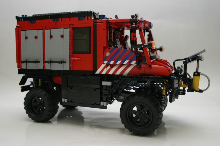 unimog u400 dutch firetruck lego technic mindstorms. Black Bedroom Furniture Sets. Home Design Ideas