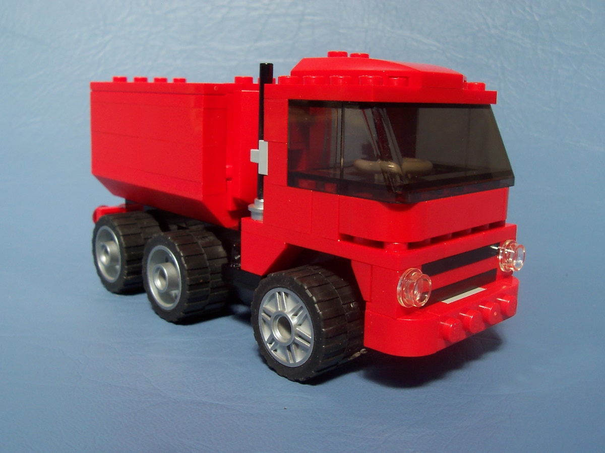lego bin lorry instructions