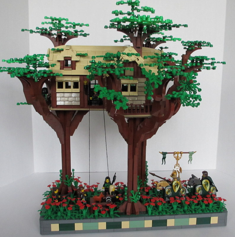 A Guide To Tree Building Lego Historic Themes Eurobricks Forums