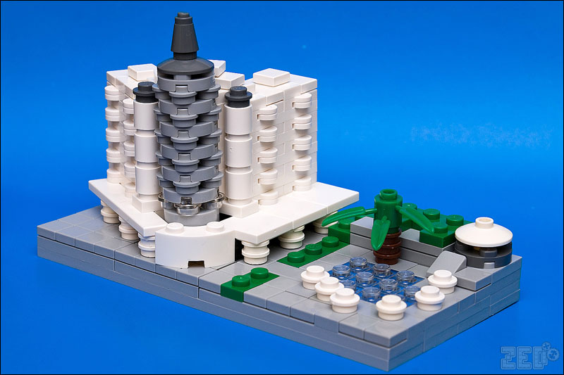It Was Meant To Be Built In Lego Microscale The Brothers