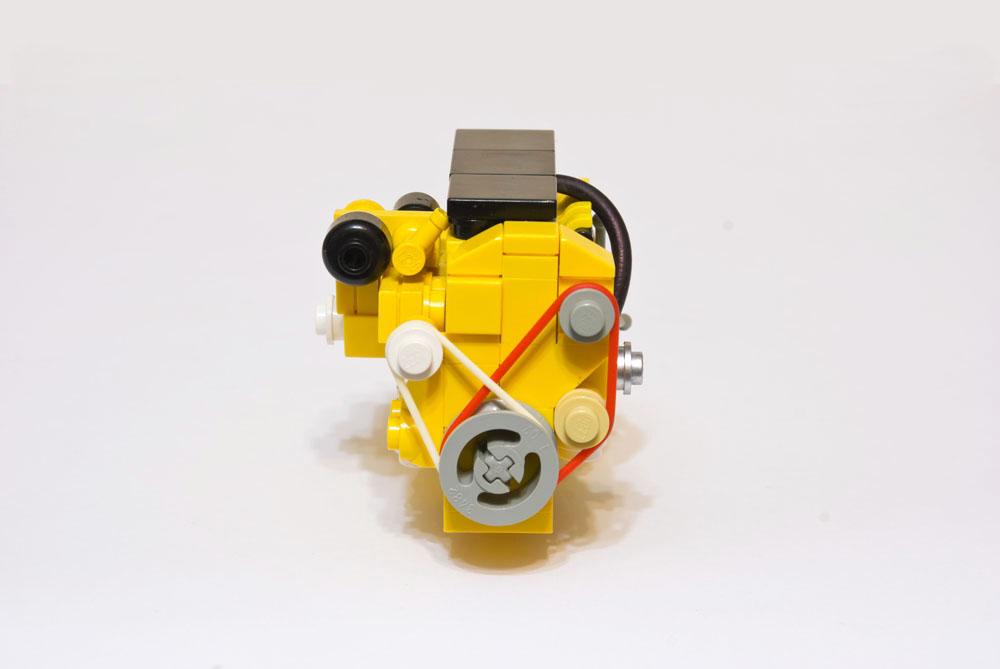 Как сделать лего мотор для 591