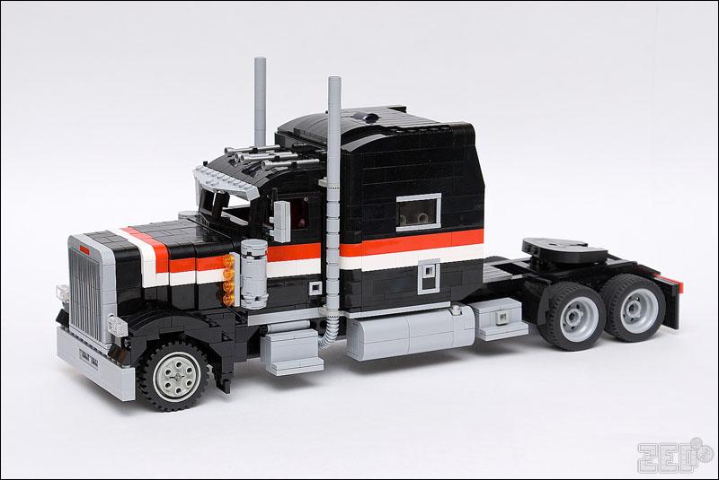 Грузовик с прицепом из Lego   Схемы Lego