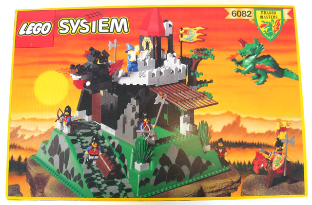Review 6082 Fire Breathing Fortress Lego Historic Themes