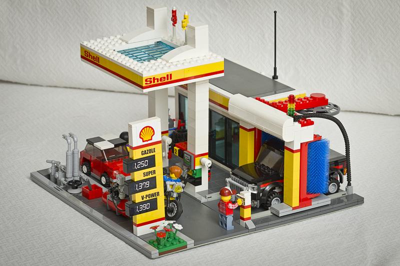 Moc Modern Shell Service Station Servo Shodown Entry