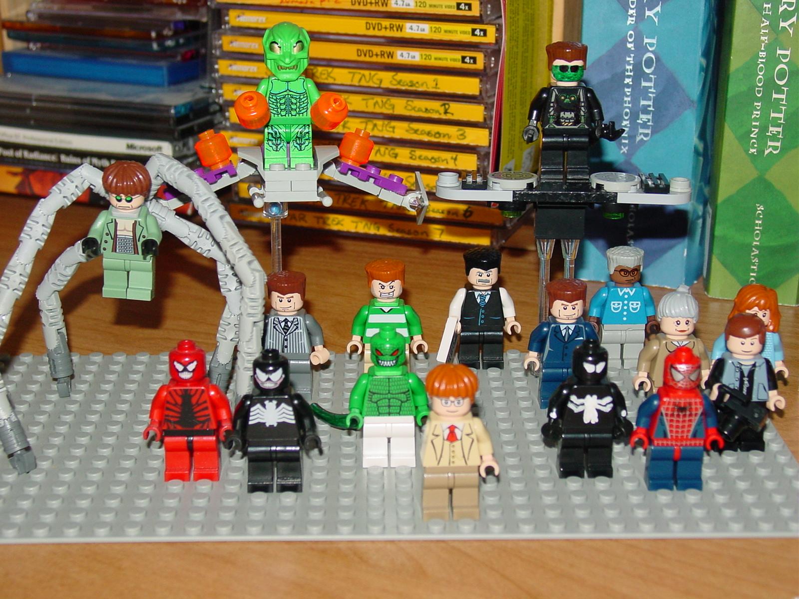 Lego New Goblin Spiderman 3