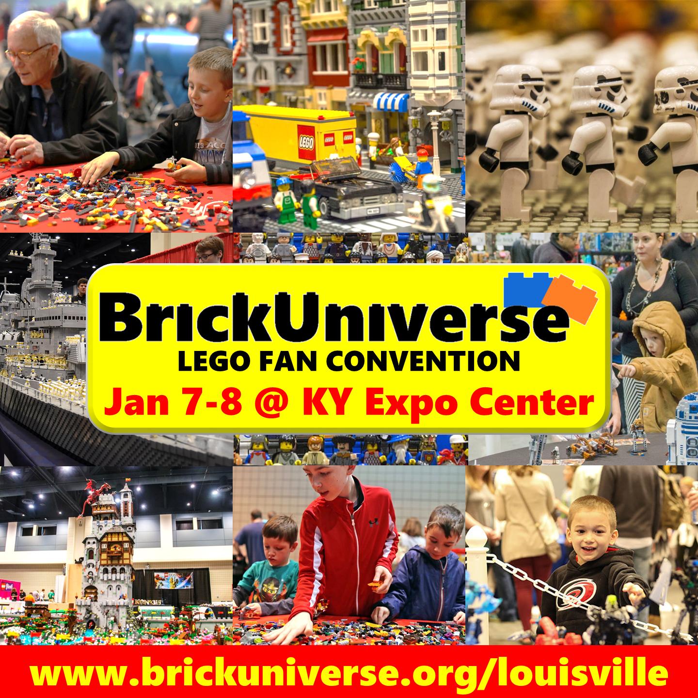 Happening This Weekend: BrickUniverse Happening This Weekend In Louisville