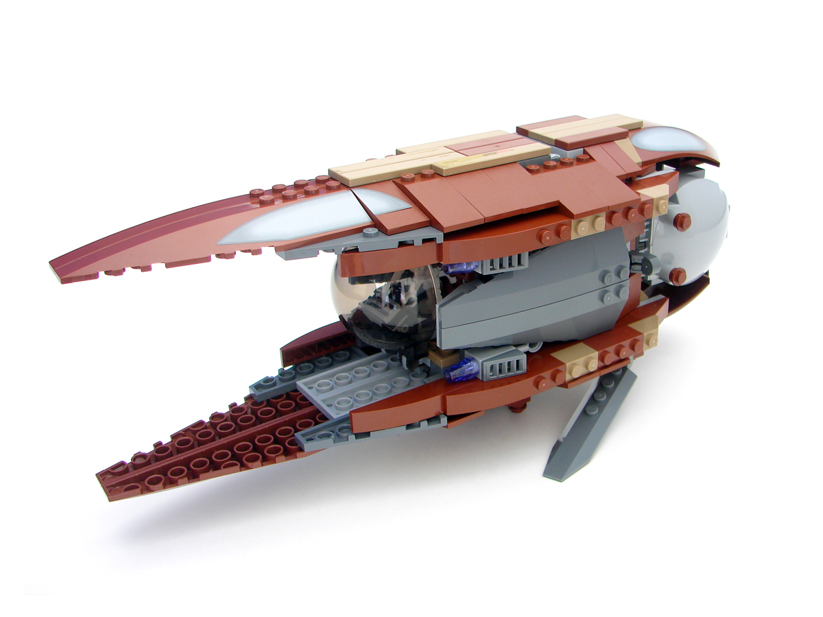 Review Of 7752 Count Dooku S Solar Sailer Review The
