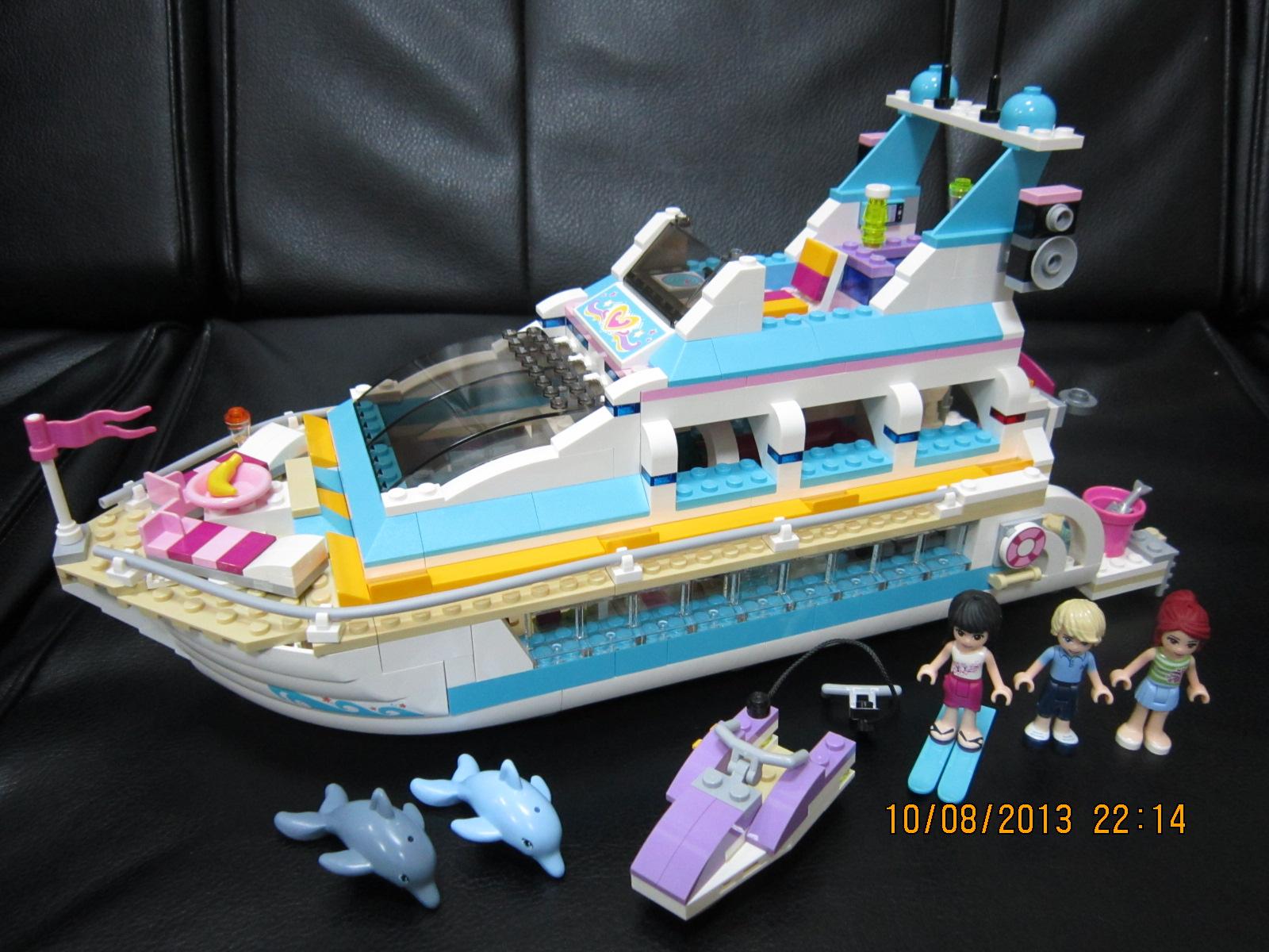 2013 41015 海豚号游艇 dolphin cruiser - lego 乐高