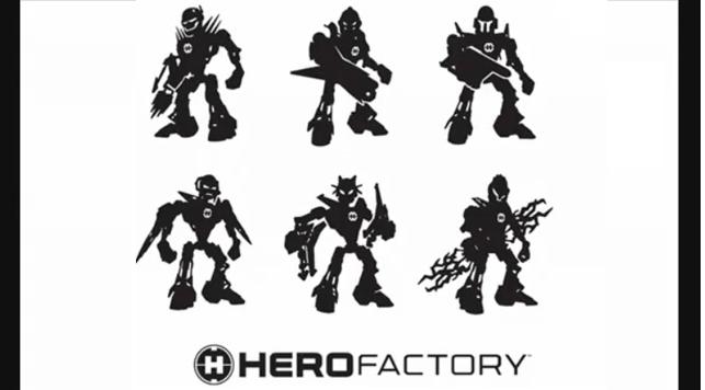 [22/03/10] Nouvelles images claires des Hero Factory Alpha