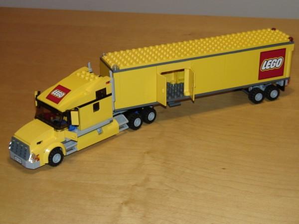 Lego vrachtwagen bouwtekening