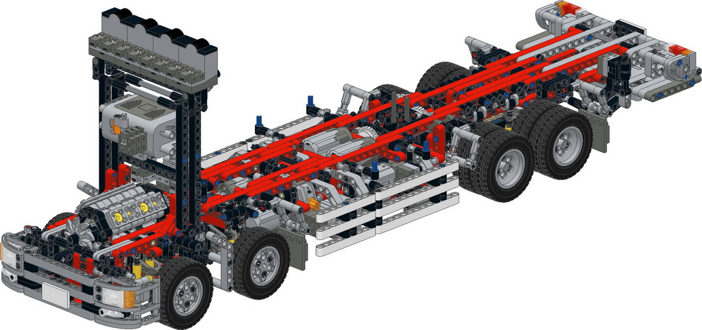 Wing Body Truck Building Instructions Page 5 Lego Technic And