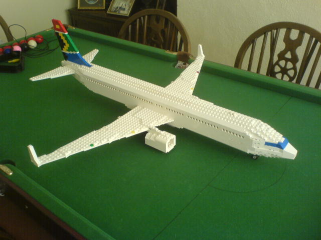 how to build a lego airplane