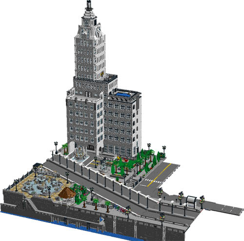 Wip city section 5 lego digital designer and other for Lego digital designer templates