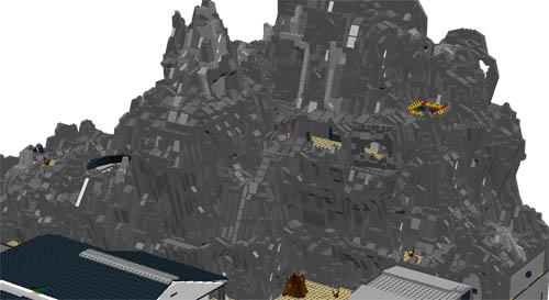 Hidden Mountain Base Moc Lego Digital Designer And Other