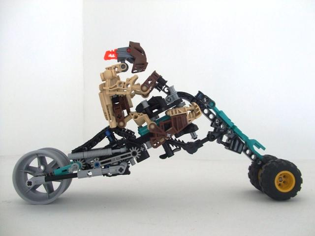 [MOC] Motocyclette de Destral 007