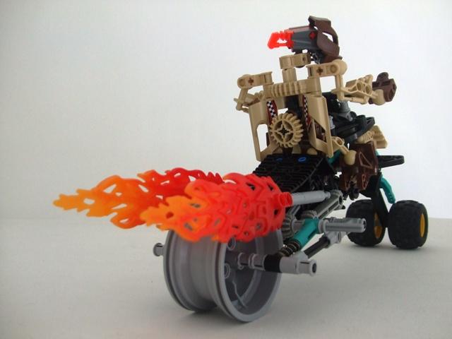 [MOC] Motocyclette de Destral 009
