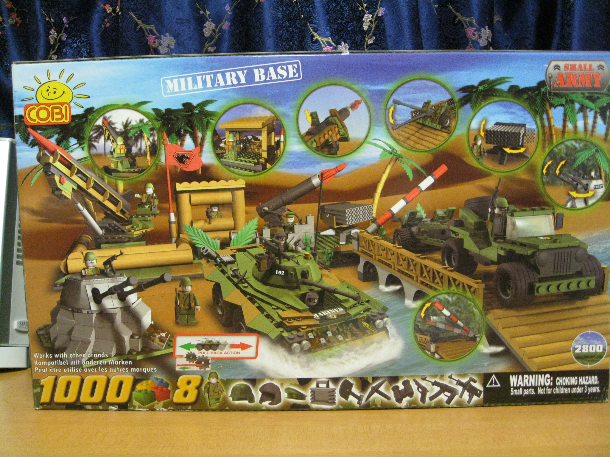 Here s the big set out of my cobi collection