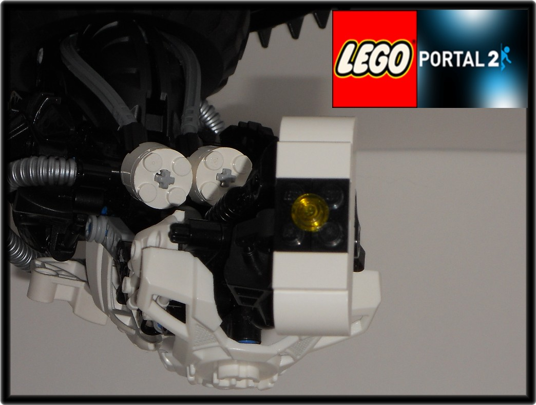 Glados From Portal 2 Bionicle Based Creations Bzpower