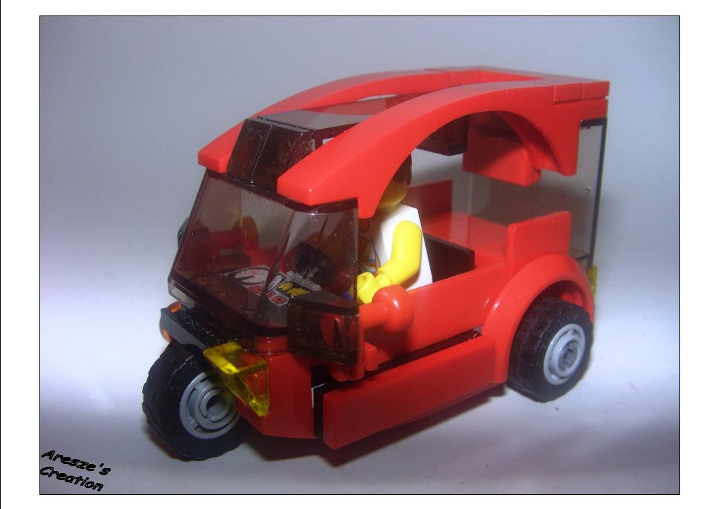 aresze moc - 3 wheels car 001